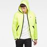 G-Star RAW® Strett Hooded Overshirt Yellow model front
