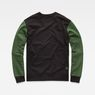 G-Star RAW® Stalt Deconstructed Sweater Green flat back