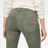 G-Star RAW® D-Staq 5-Pocket Mid waist Skinny Color Jeans Grün