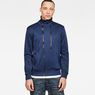G-Star RAW® Core Hybrid Archive Slim Tracktop Sweater Dark blue model front