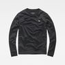G-Star RAW® Carnix Slim Sweater Black flat front