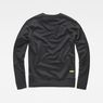 G-Star RAW® Carnix Slim Sweater Black flat back