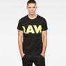G-Star RAW® Vilsi T-Shirt Black model front