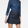 G-Star RAW® 5622 Racewood A-Line Skirt Dark blue model front