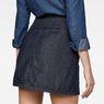 G-Star RAW® 5622 Racewood A-Line Skirt Dark blue model back zoom