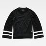 G-Star RAW® Flat Knit Black flat front