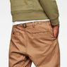 G-Star RAW® Bronson Loose Chino Brown model back zoom