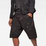 G-Star RAW® Motac-X Cargo 1/2-Length Shorts Black model front