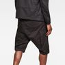 G-Star RAW® Motac-X Cargo 1/2-Length Shorts Black model back