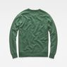 G-Star RAW® Loaq Sweater Green flat back