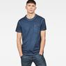 G-Star RAW® Dill Pocket T-Shirt Dark blue model front