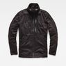 G-Star RAW® Rackam Utility Padded Overshirt Black flat front