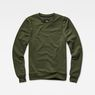 G-Star RAW® Motac Sweater Green model front