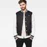 G-Star RAW® Rackam Sports Bomber Black model front