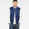G-Star RAW® Rackam Sports Bomber Dark blue model front