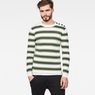 G-Star RAW® Dadin Knit Green model front