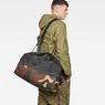 G-Star RAW® Barran Pattern Big Duffle Bag Grijs
