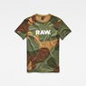 G-Star RAW® Zost MBC T-Shirt Green flat front