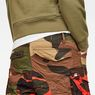 G-Star RAW® Rovic Mix Loose Shorts Green model back zoom