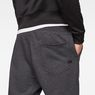 G-Star RAW® Doax 3D Tapered Sweatpants Black model back zoom