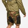 G-Star RAW® Rovic Mix Loose Shorts Green model back