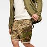 G-Star RAW® Rovic Mix Loose Shorts Beige model front
