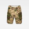 G-Star RAW® Rovic Mix Loose Shorts Beige flat front