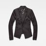 G-Star RAW® D-Staq Slim Blazer Black flat front