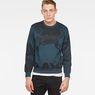 G-Star RAW® Core 3 Sweater Dark blue model front
