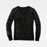 G-Star RAW® Zalow Straight Granddad T-Shirt Black model side