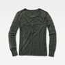 G-Star RAW® Zalow Straight Granddad T-Shirt Grey model side