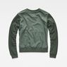 G-Star RAW® Cropped Hybrid Archive Sweater Green model side