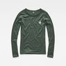 G-Star RAW® Jiling Straight T-Shirt Green model front