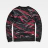 G-Star RAW® Zeabel MC Stalt Deconstructed Sweater Black flat back