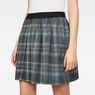 G-Star RAW® G-Star Flared Mini Skirt Black model back zoom