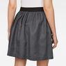 G-Star RAW® G-Star Flared Mini Skirt Black model back zoom
