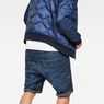 G-Star RAW® Type C 3D Sport 1/2-Length Shorts Dark blue model back