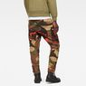 G-Star RAW® Rovic Mix 3D Tapered Green model back