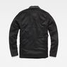 G-Star RAW® Stalt Hybrid Archive Overshirt Black flat back