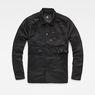 G-Star RAW® Stalt Hybrid Archive Overshirt Black flat front