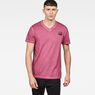 G-Star RAW® Doax V-Neck T-Shirt Red model front