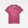G-Star RAW® Doax V-Neck T-Shirt Red flat front