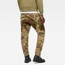 G-Star RAW® Rovic Mix 3D Tapered Jeans Beige model back