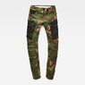 G-Star RAW® Rovic Mix 3D Tapered Pants Green flat front