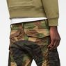 G-Star RAW® Rovic Mix 3D Tapered Pants Green model back zoom