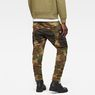 G-Star RAW® Rovic Mix 3D Tapered Pants Green model back