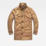 G-Star RAW® Garber Padded Trench Brown flat front