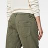 G-Star RAW® Tendric 3D Mid Boyfriend Pants Green model back zoom