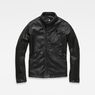 G-Star RAW® Empral 3D GPL Biker Jacket Black flat front