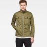 G-Star RAW® Type C Zip Utility Overshirt Green model front